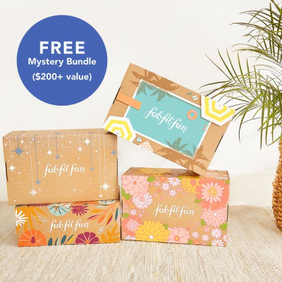 FabFitFun Sale: FREE Mystery Bundle With Annual Subscription!