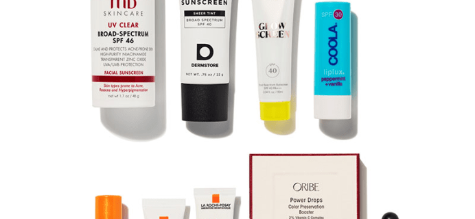 Dermstore x Skin Cancer Foundation 2021 Sun Care Kit: 8 Bestselling Sun Care Products!