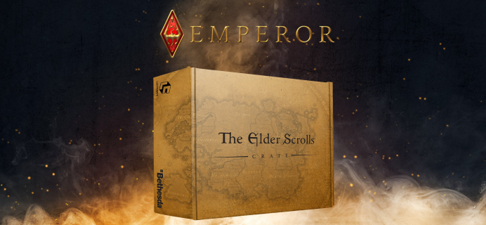 Loot Crate's The Elder Scrolls Crate August 2021 Theme Spoilers & Coupon!