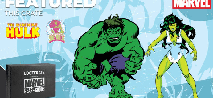 Loot Crate Marvel Gear + Goods July 2021 Spoiler #2 + Coupon!