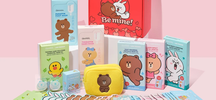 Soko Glam Releases MEDIHEAL X LINE FRIENDS Be Mine Gift Box To Pamper You All Season Long!