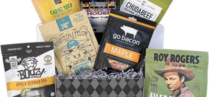 JerkyGent Ultimate Father's Day Craft Jerky Gift Box Brings New Jerky Flavors!