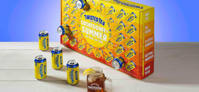 2021 Twisted Tea Summer Countdown Calendar Available Now + Spoilers!