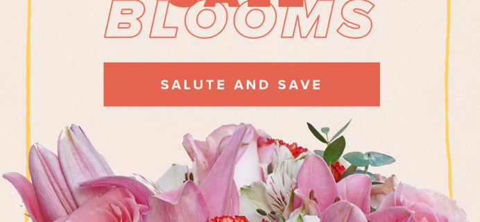 The Bouqs Memorial Day Coupon: Stars, Stripes and Free Upgrade To Deluxe Size!