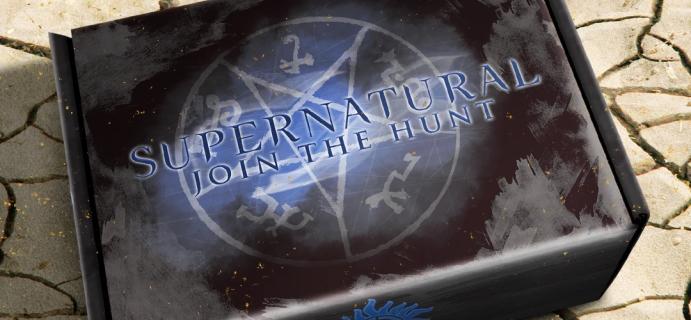 Supernatural Box Summer 2021 Spoiler #3!