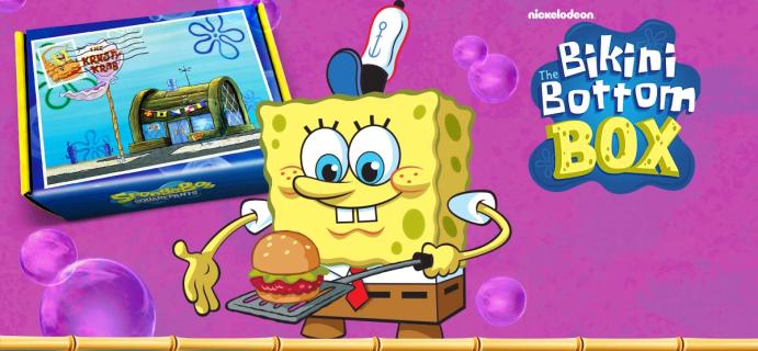 Spongebob's The Bikini Bottom Box Summer 2021 Theme Spoilers – Available Now!