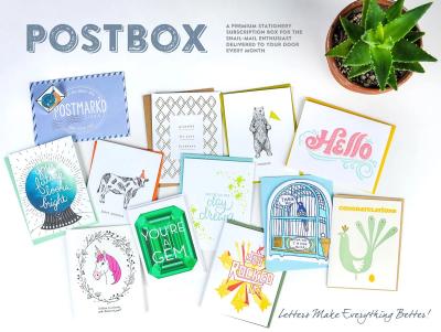 Postmark'd Studio PostBox July 2021 Spoilers + Coupon!