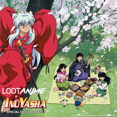 Loot Anime Special Edition Inuyasha Crate Available Now!