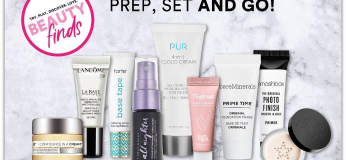 ULTA Prep, Set & Go! Beauty Kit – 9 Skin Prep & Finishing Samples!
