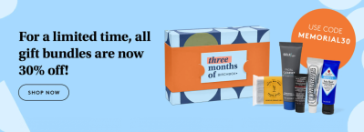 Birchbox Memorial Day Sale: Get 30% Off Gift Bundles!