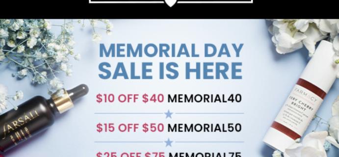 BOXYCHARM BoxyPopUp Memorial Day Sale!