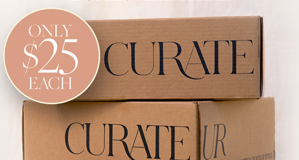 The CURATEUR Summer 2021 Welcome Boxes Are Here: Pick Your Box for $25 Each!