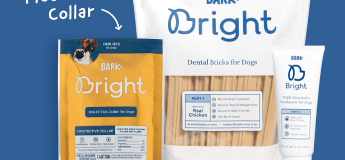 Bark Bright Coupon: FREE Flea & Tick Collar with Multi-Month Subscription!