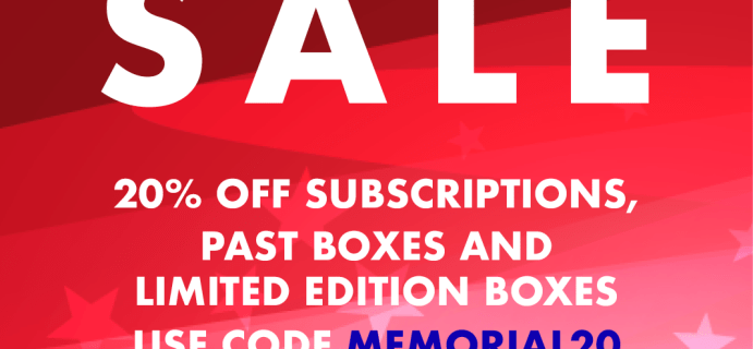 Cocotique Memorial Day Sale: Get 20% Off On Subscriptions, Past Boxes, and Limited Edition Boxes!