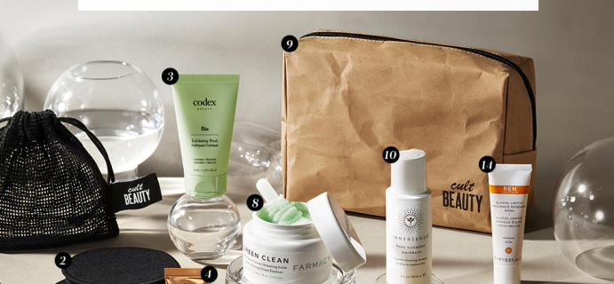 Reward Yourself With The Cult Beauty Cult Conscious Goody Bag GWP + Full Spoilers!