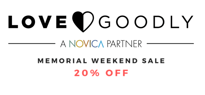 LOVE GOODLY Memorial Day Sale: Get 20% Off!