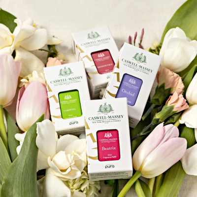 Pura Launches New Fragrance Collection: The Caswell-Massey New York Botanical Garden Scents Are Here!