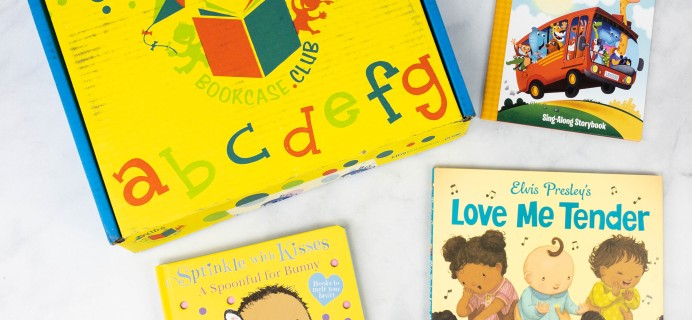 Kids BookCase Club May 2021 Box Review + 50% Off Coupon – Girls Newborn-2 Years
