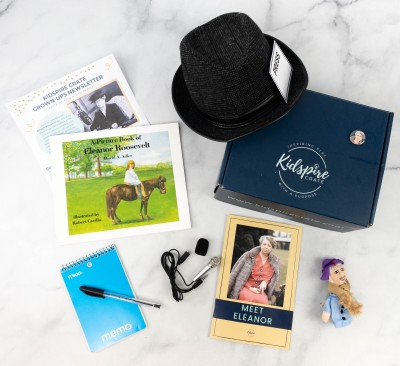 Kidspire Crate Subscription Box Review + Coupon – ELEANOR ROOSEVELT