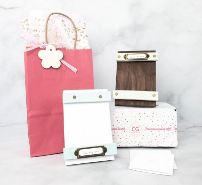 Lil Grace Box by Confetti Grace April 2021 Craft Subscription Box Review