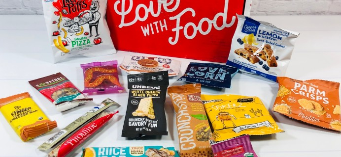 Love With Food May 2021 Deluxe Box Review + Coupon