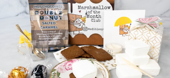 Marshmallow of the Month Club by Edible Opus April 2021 Subscription Box Review