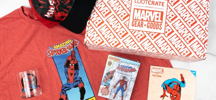 Marvel Gear + Goods March 2021 Review + Coupon – AMAZING
