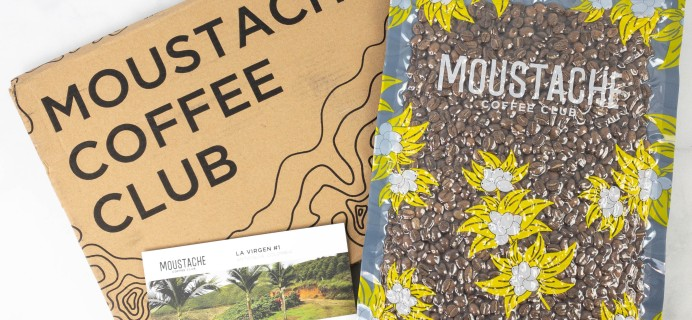 Moustache Coffee Club Subscription Review + Coupon – May 2021