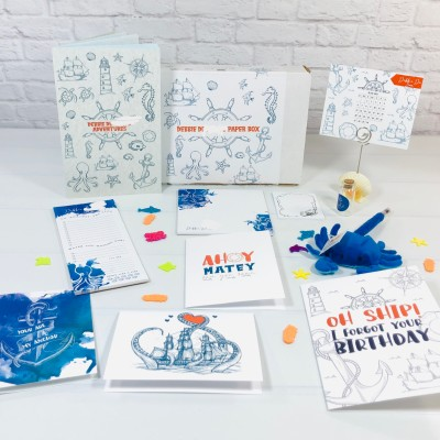 My Paper Box June 2021 Subscription Box Review + Coupon