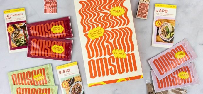 Omsom Review – Southeast Asian Omsom Sampler
