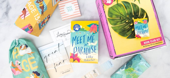 Once Upon a Book Club Review + Coupon –  May 2021 Adult Box