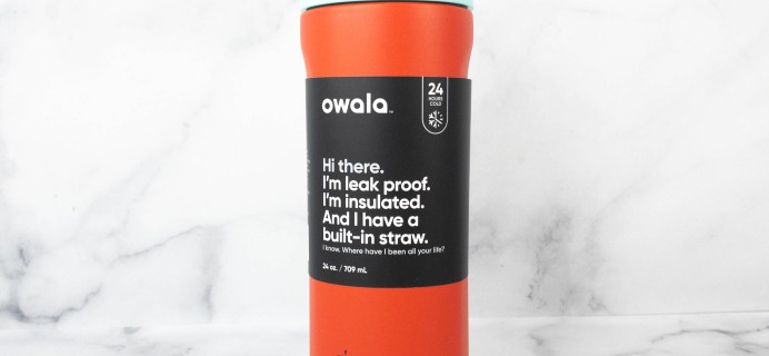 Owala Color of the Month Club Water Bottle Subscription Review