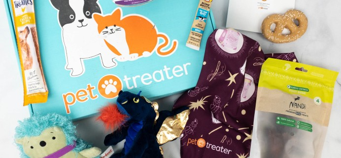 Pet Treater Deluxe Dog Pack Review + Coupon – April 2021