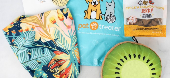 Pet Treater Dog Pack Review + Coupon – May 2021