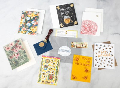 Postmark'd PostBox May 2021 Subscription Review + Coupon