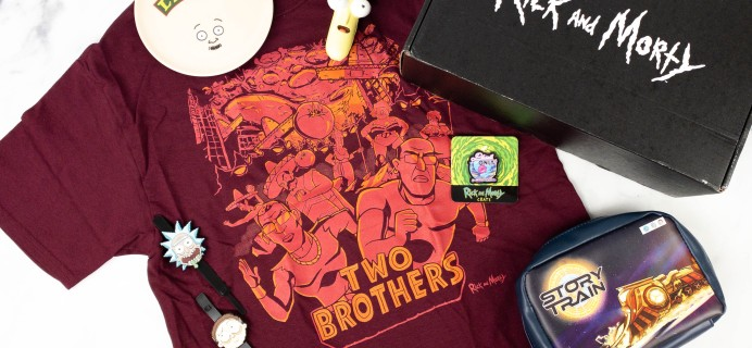 Rick and Morty Crate April 2021 Subscription Box Review + Coupon