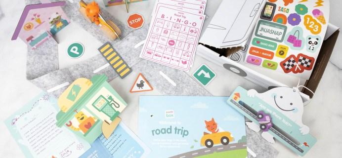 Sago Mini Box Review + Coupon – ROAD TRIP