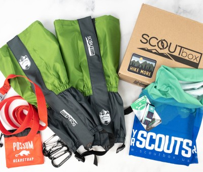 SCOUTbox Review + Coupon – May 2021