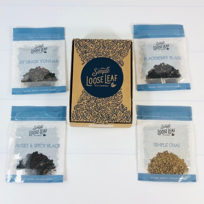 Simple Loose Leaf Tea Review + Coupon – May 2021