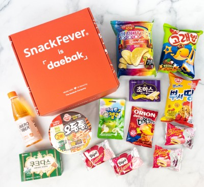 Snack Fever Review + Coupon – April 2021 Deluxe Box!
