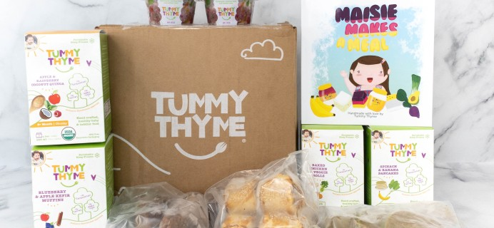 Tummy Thyme Review & Coupon: Toddler Food Box