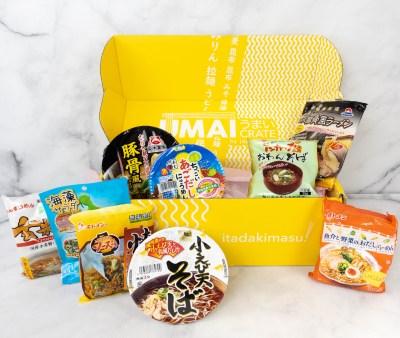 Umai Crate June 2021 Subscription Box Review + Coupon