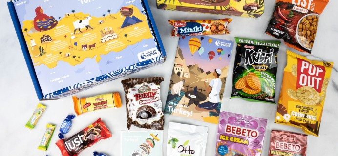 Universal Yums Subscription Box Review + Coupon – TURKEY