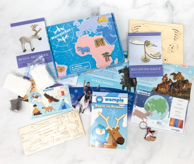 WompleMail Kids Subscription Box Review + Coupon – MONGOLIA