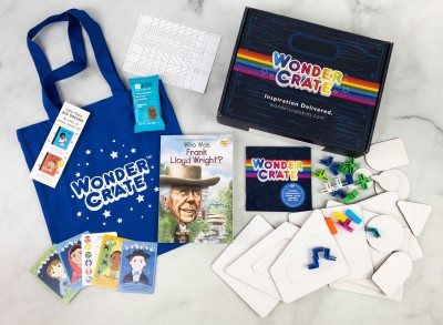 Wonder Crate Subscription Box Review + Coupon – Frank Lloyd Wright