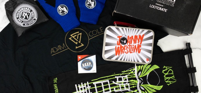 WWE Slam Crate Review + Coupon – February 2021