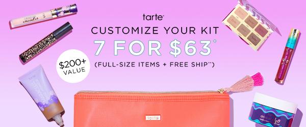 Tarte Custom Kit – EXTENDED TODAY ONLY!