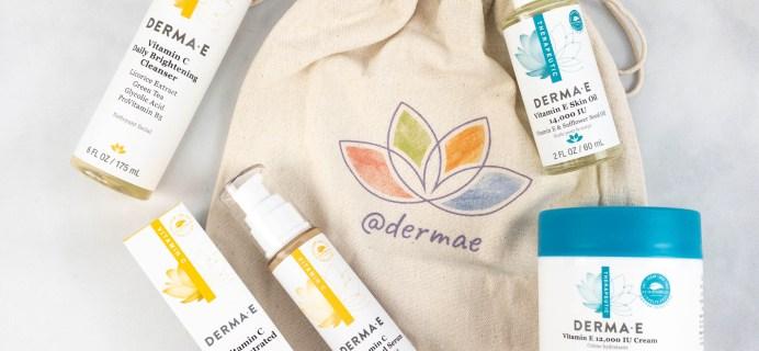 Derma-E Anniversary Collection Review – Vitamin C & Vitamin E Line