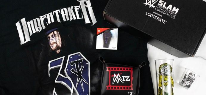 WWE Slam Crate Review + Coupon – April 2021