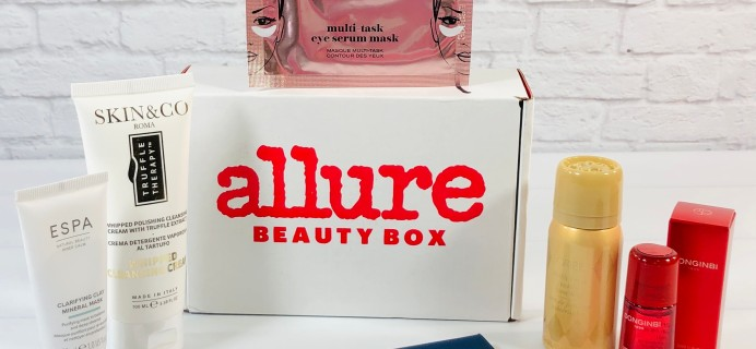 Allure Beauty Box June 2021 Review & Coupon